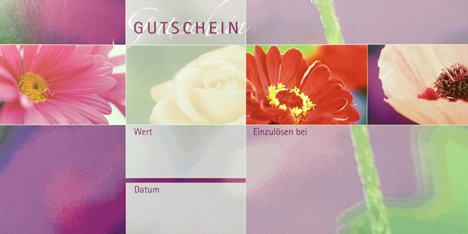 Gutschein-Frühling