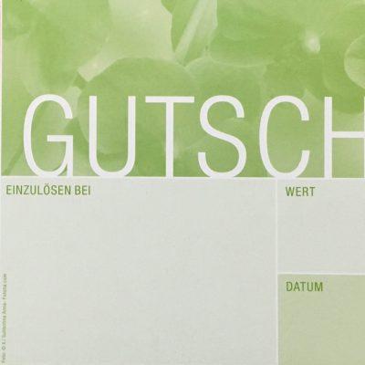 Gutschein-Orchidee