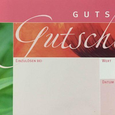 Gutschein-Pfingstrose