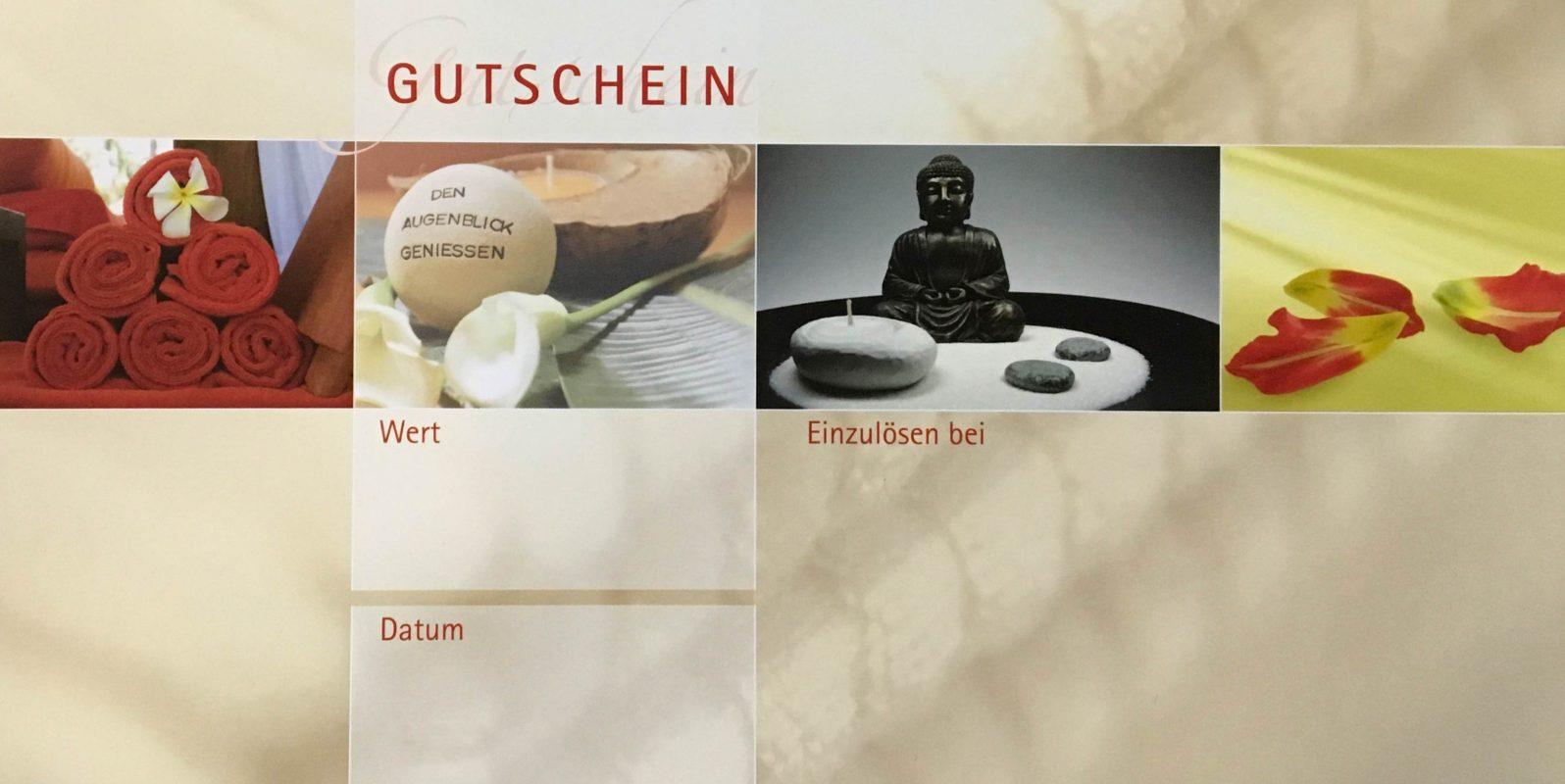 Gutschein-Wellness