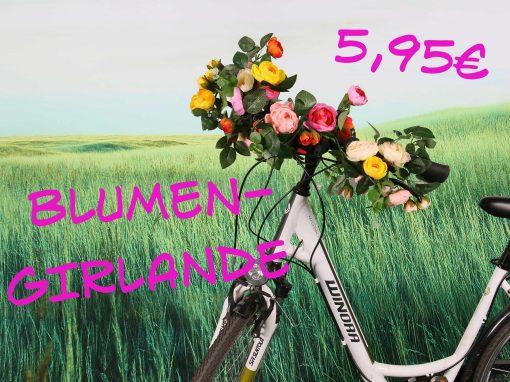 Blumengirlande 5,95€