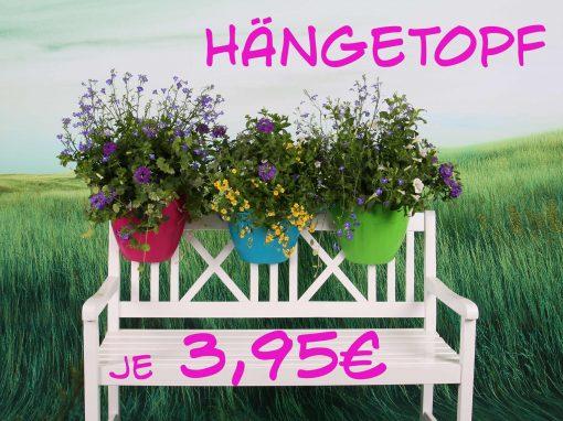 Hängetopf für Geländer 3,95€