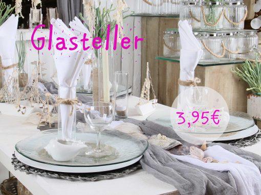 Glasteller 3,95 €