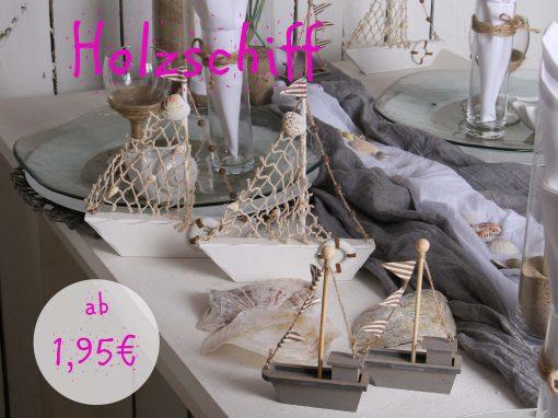 Holzschiff ab 1,95€