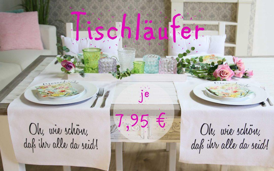 Tischläufer 7,95€