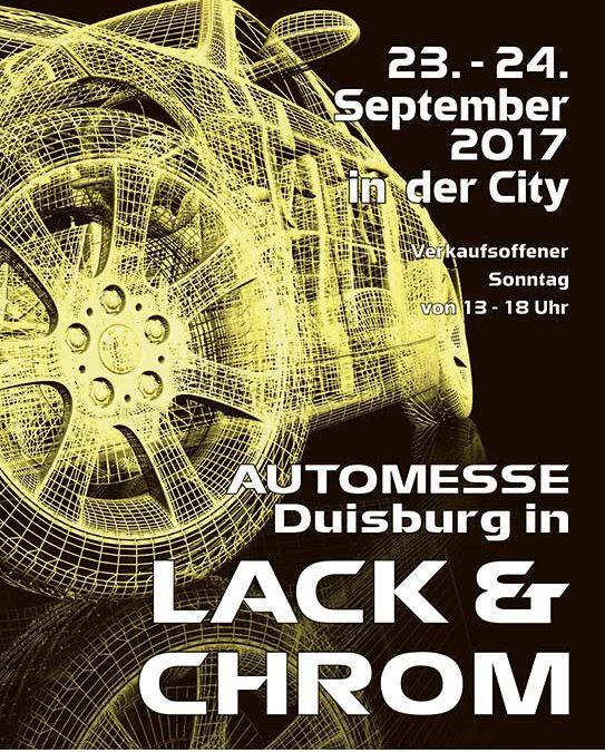 19. Automesse Duisburg Lach und Chrom