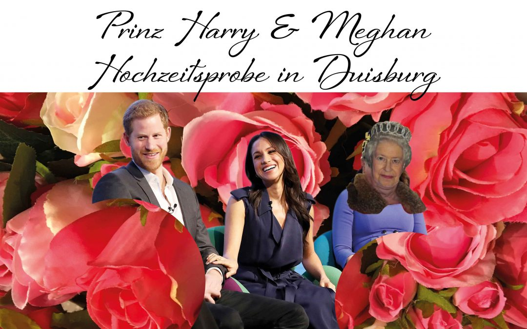 PRINZ HARRY &  MEGHAN proben in Duisburg